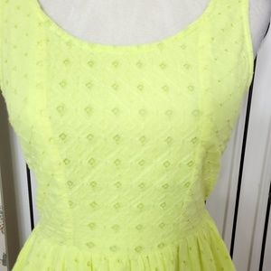 American Eagle Outfitters Dresses - American eagle sleeveless eyelet dress size 4